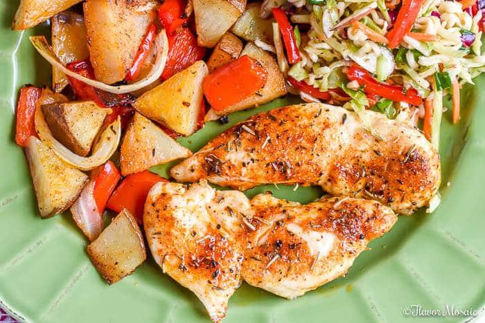 Rotisserie Seasoned Chicken Tenders baked