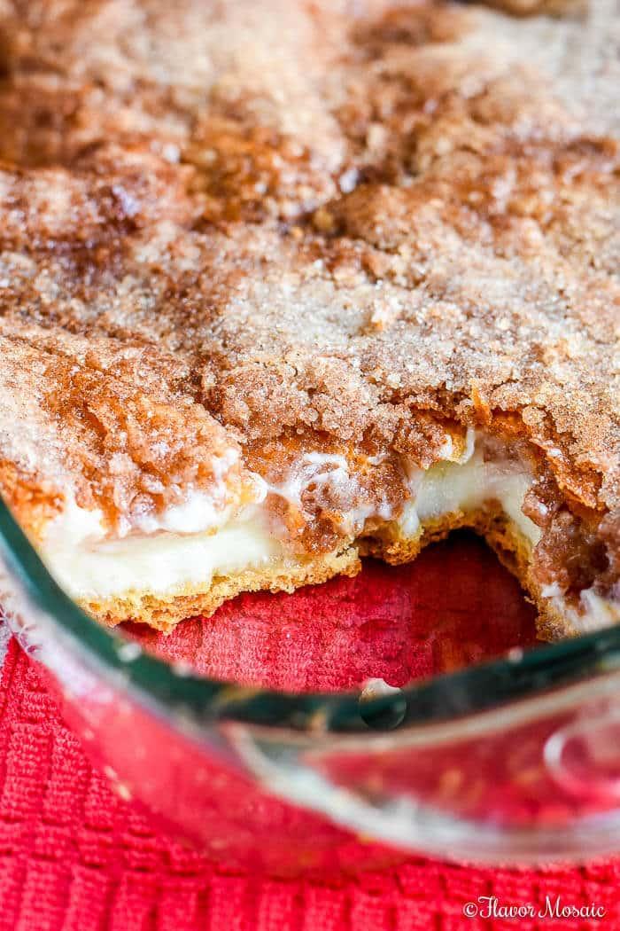 Sopapilla Cheesecake Bars Dessert-12