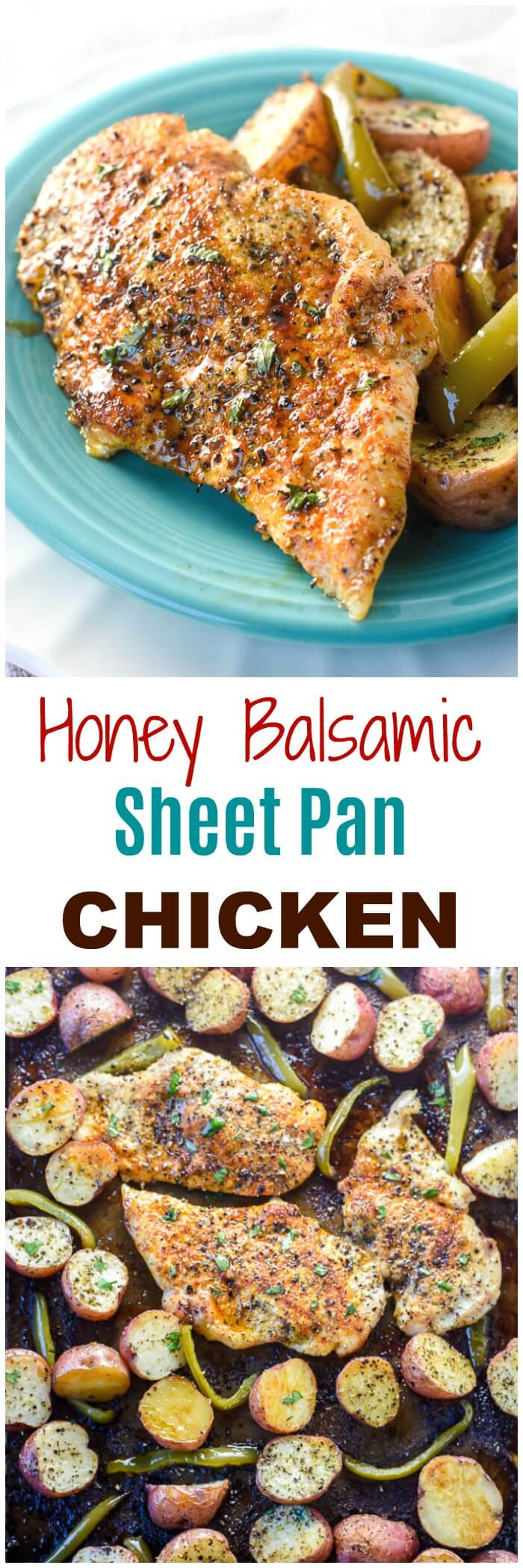 HoNey Balsamic Sheet PaN ChickeHoNey Balsamic Sheet PaN ChickeN easy weekHoNey Balsamic Sheet PaN ChickeHoNey Balsamic Sheet PaN ChickeN