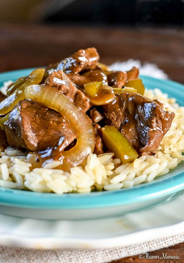 Beef Tips and Rice Recipe