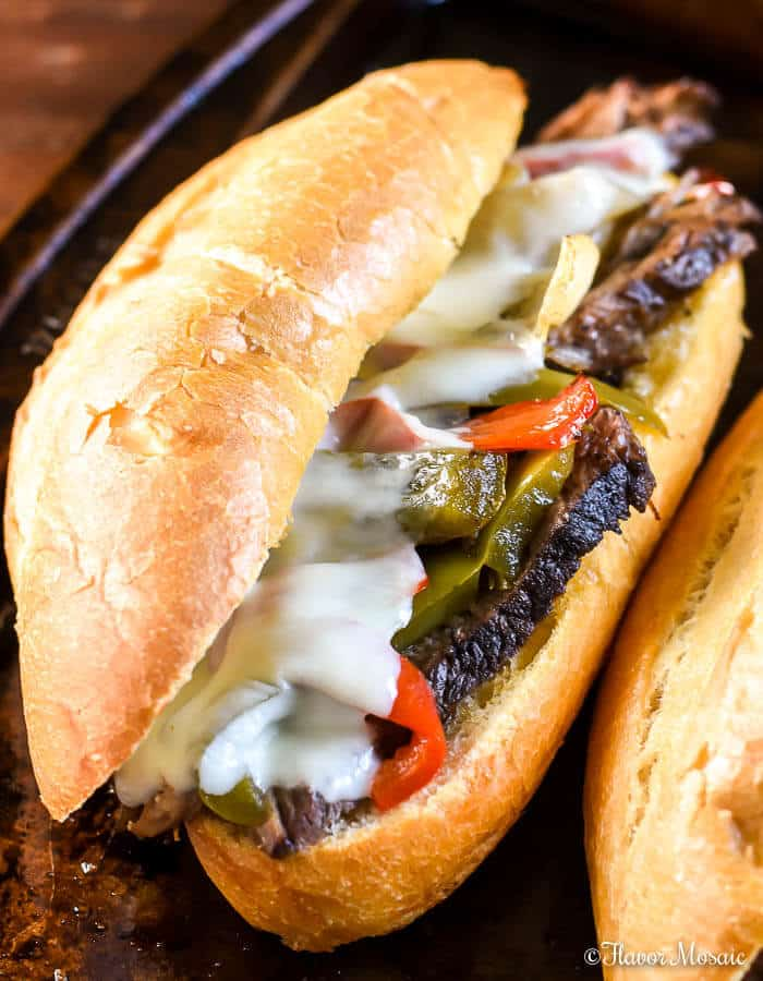 Crockpot Philly Cheese Steak