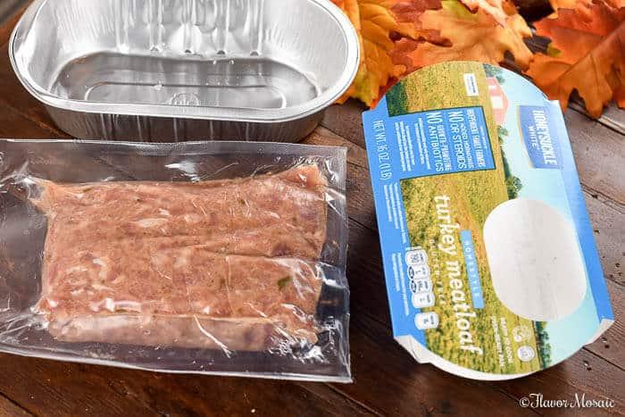 Easy Brown Sugar Glazed Turkey Meatloaf