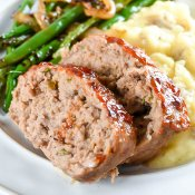 Easy Brown Sugar Glazed Turkey Meatloaf Flavor Mosaic