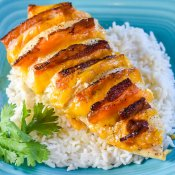 Hasselback Chicken Stuffed with Bacon, Ranch and Cheddar