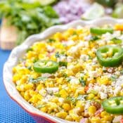 Mexican Street Corn Salad (Elote Deconstructed)