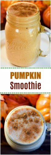Pumpkin Smoothie with an optional spicy Texas twist