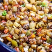 Breakfast Potatoes {Texas Style}