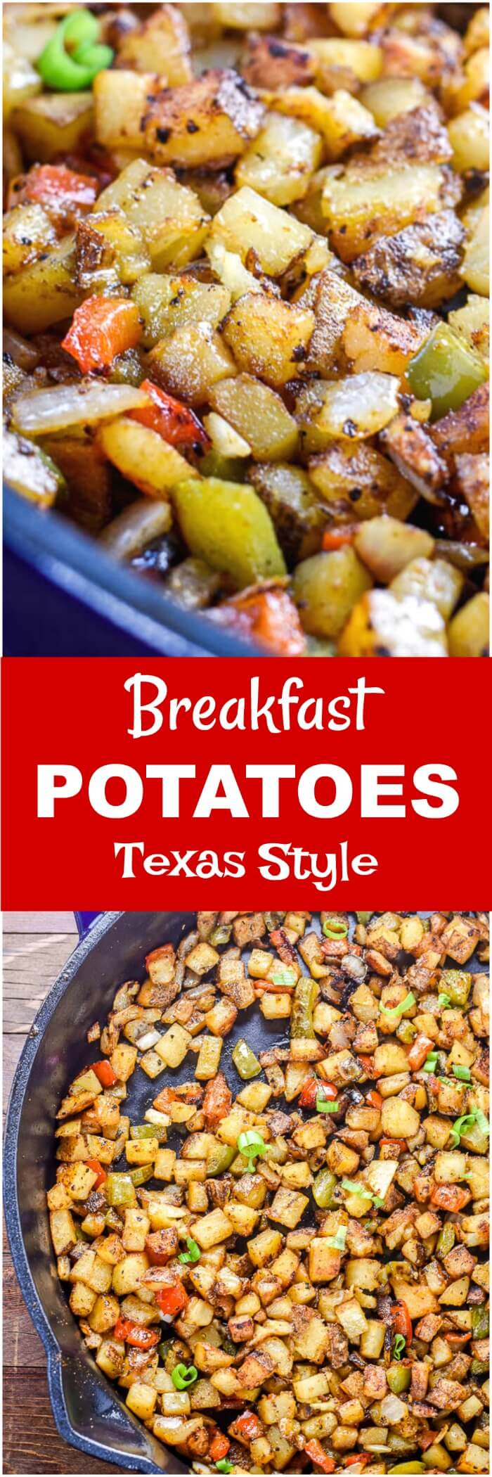 Breakfast Potatoes Texas Style Long Pin
