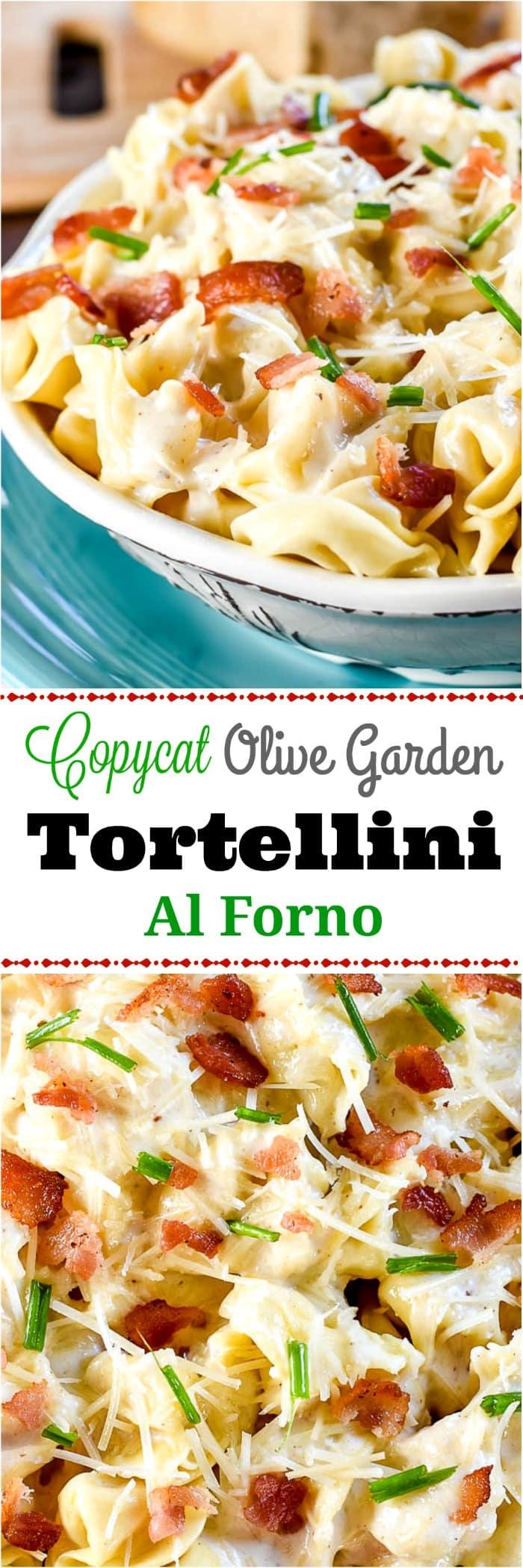 Copycat Olive Garden Tortellini Al Forno