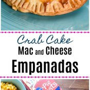 Crab Cake Mac and Cheese Empanadas