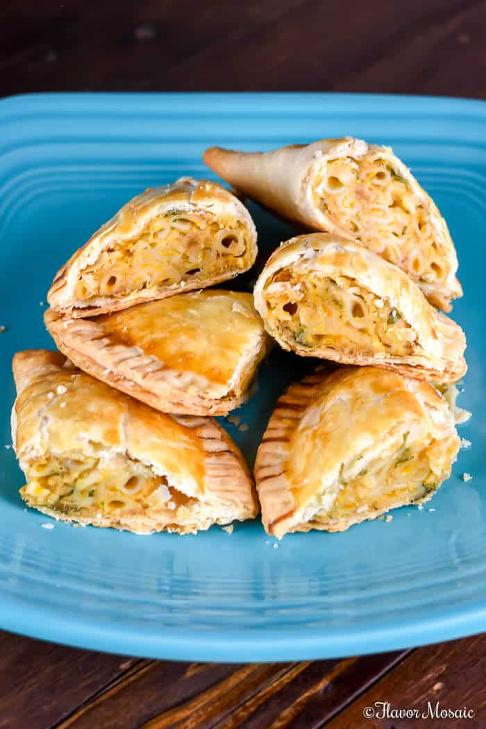Crab Mac and Cheese Empanadas