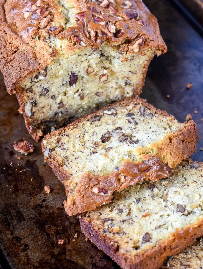 This Moist Banana Bread is the best banana bread you will ever try!