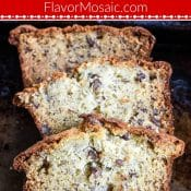 Moist Banana Bread Recipe by Flavor Mosaic Pin Red Label 1 photo