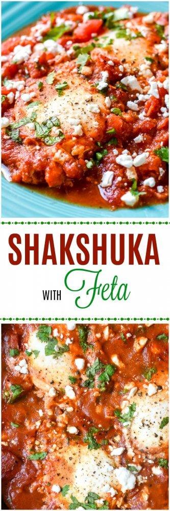 Shakshuka with Feta