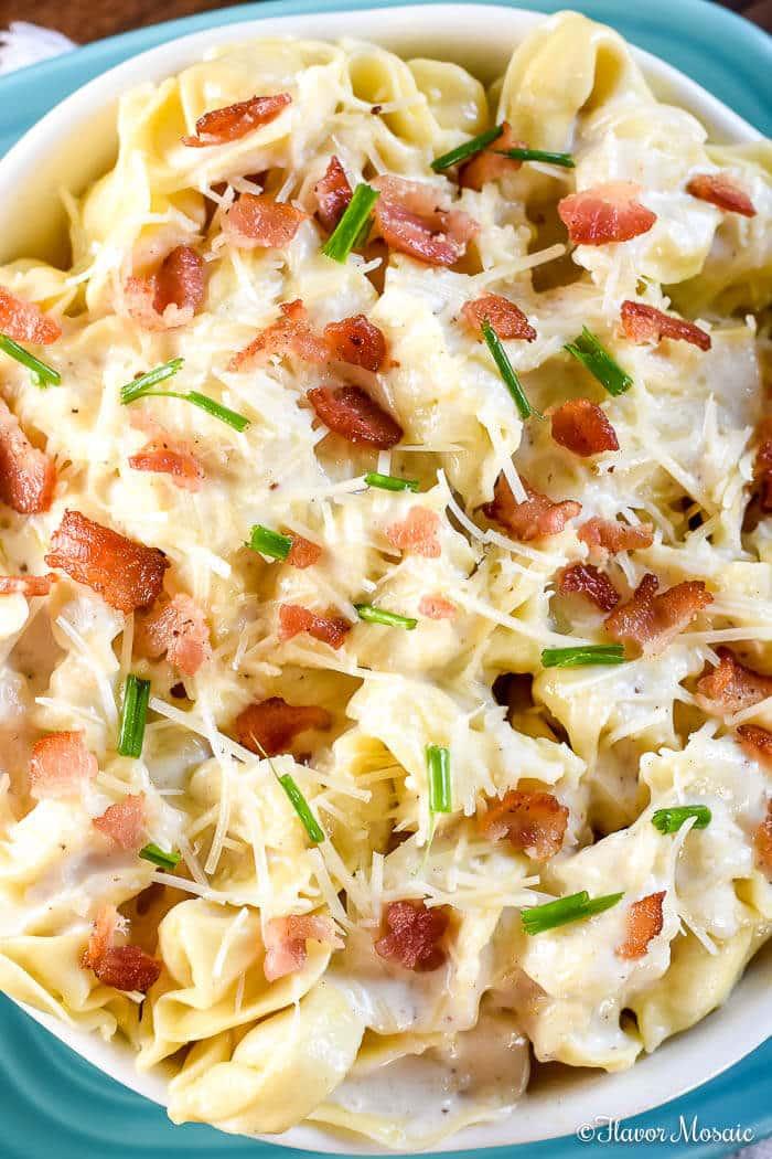 Tortellini Al Forno - Copycat Olive Garden Recipe