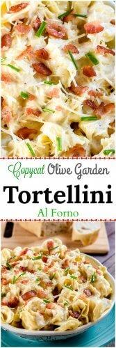 Tortellini Al Forno Copycat Olive Garden Recipe