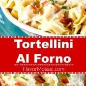 Tortellini al forno long pin red label Flavor Mosaic
