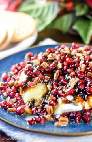 Balsamic Jalapeno Pomegranate Brie