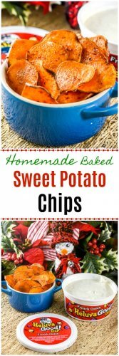 Homemade Baked Sweet Potato Chips Recipe Paleo