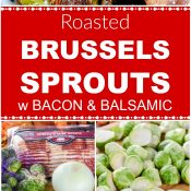 Roasted Bacon & Balsamic Step by Step Long Pin Flavor Mosaic