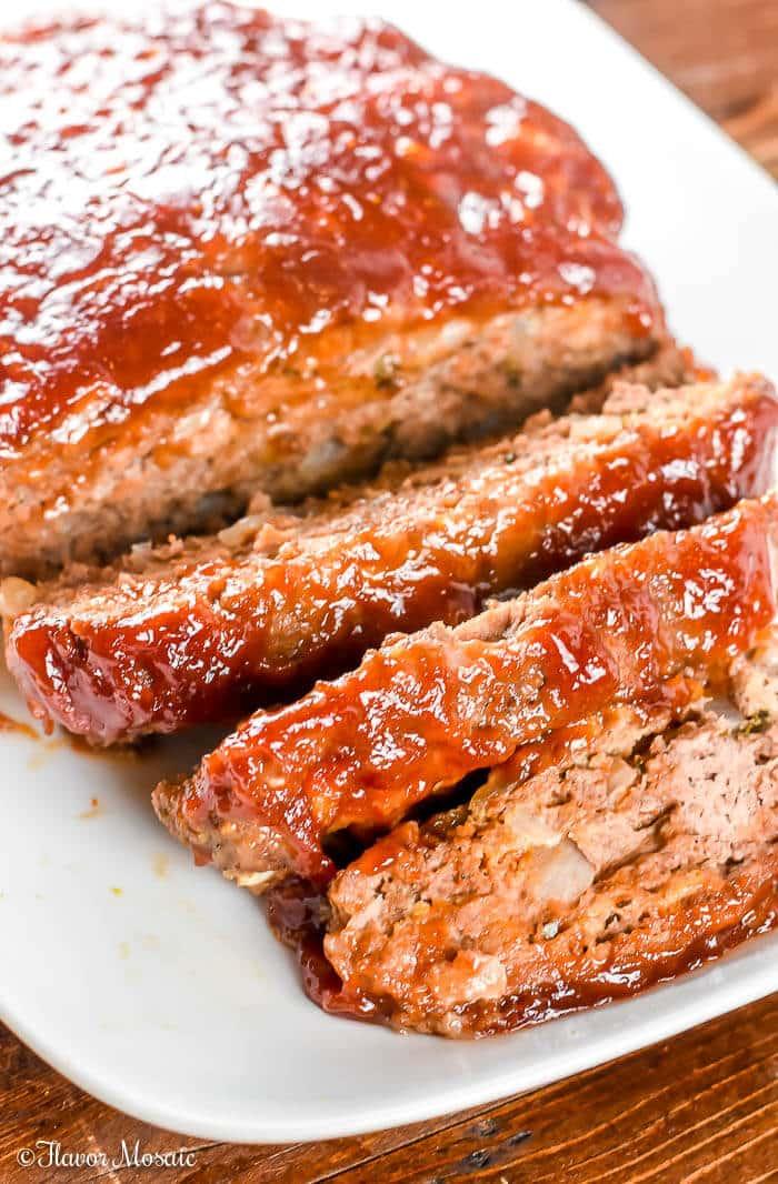Brown Sugar Meatloaf - Beef