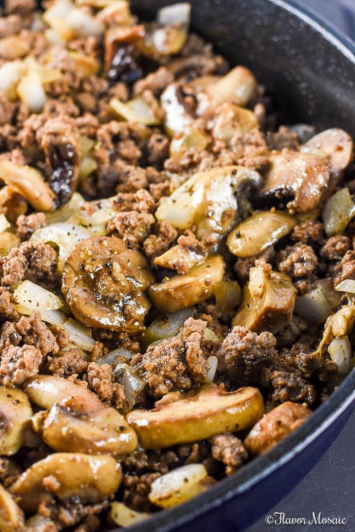 Ground Beef Stroganoff - an easy, budget-friendly, comfort food dinner