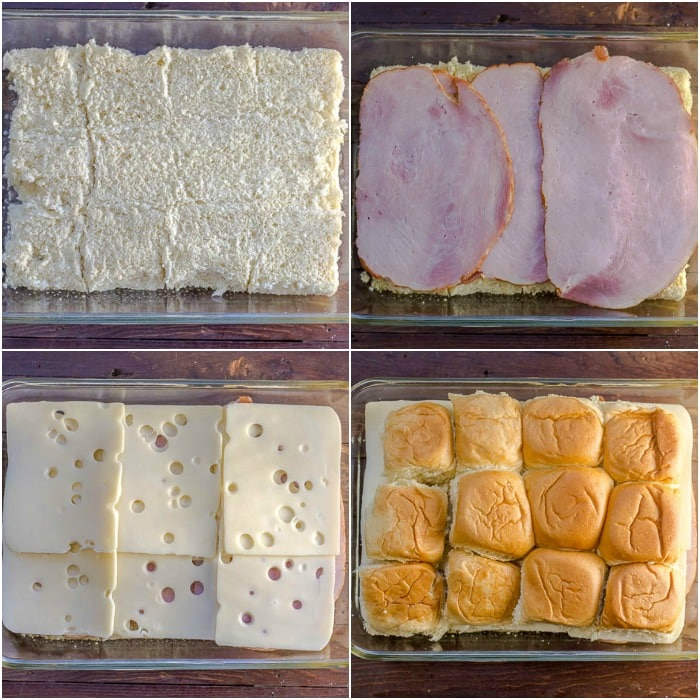 Ham and Swiss Sliders Ham and Cheese Sliders Ham Sliders or Hawaiian Sliders Sandwiches