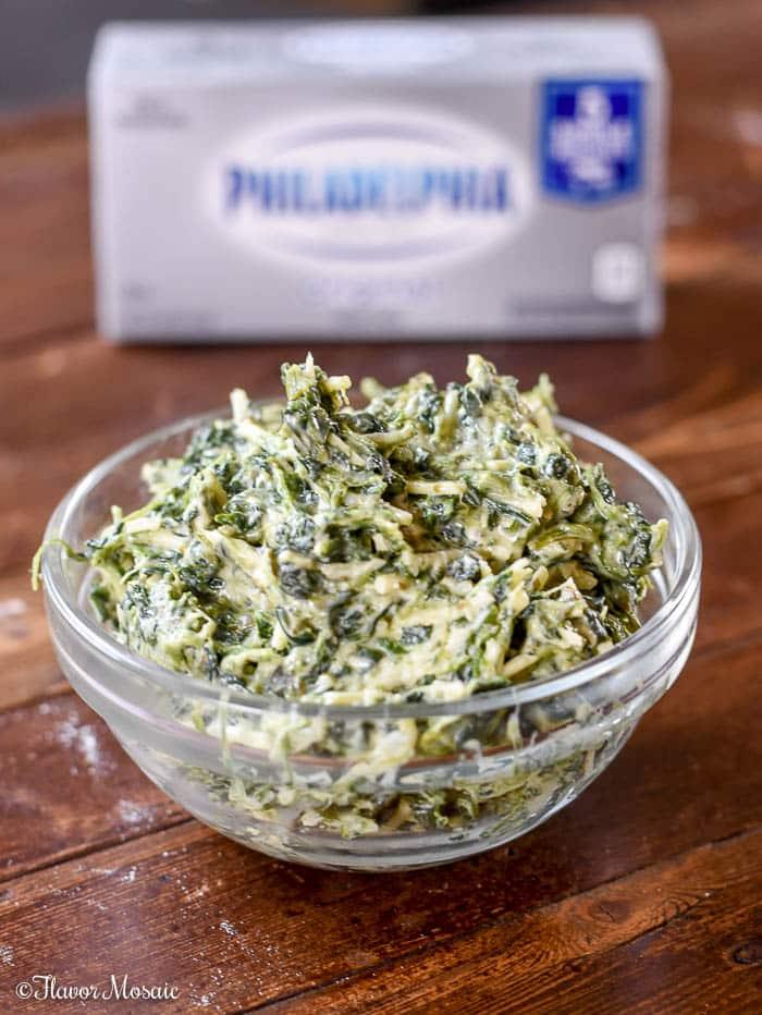 Toasted Spinach Pesto Ravioli