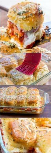 Chicken Parmesan Sliders