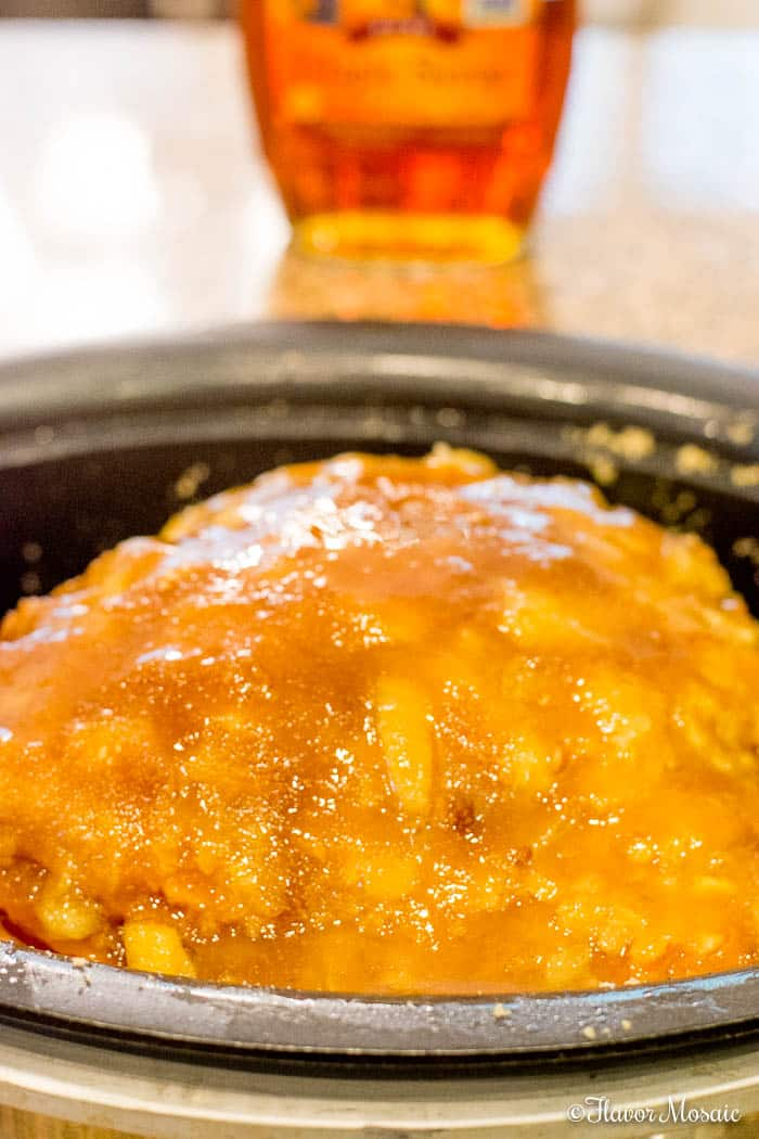 Crockpot Brown Sugar Pineapple Ham