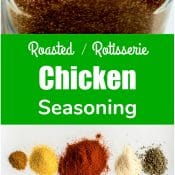 Chicken Seasoning for Roasted or Rotisserie Chicken - Seasoning Spice Mix