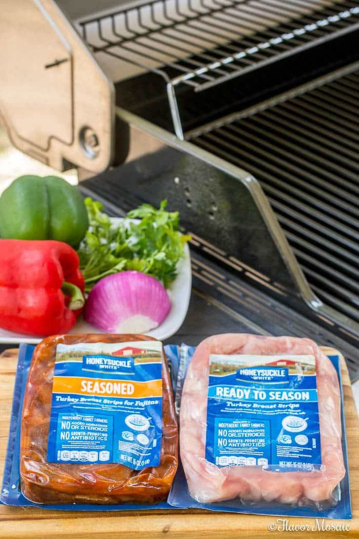 Easy Turkey Fajitas