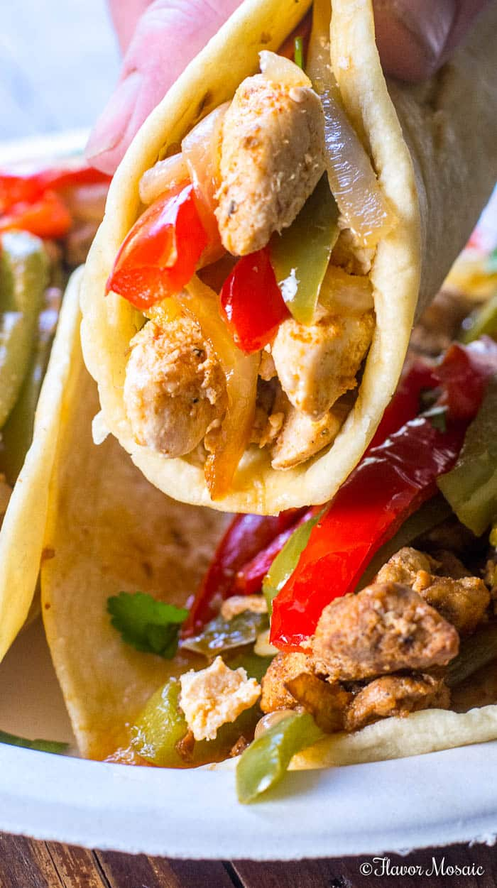 Easy Turkey Fajitas