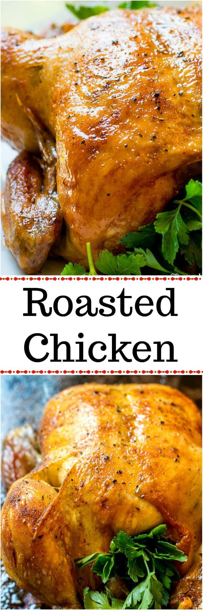 Oven Roasted Chicken - Rotisserie Chicken