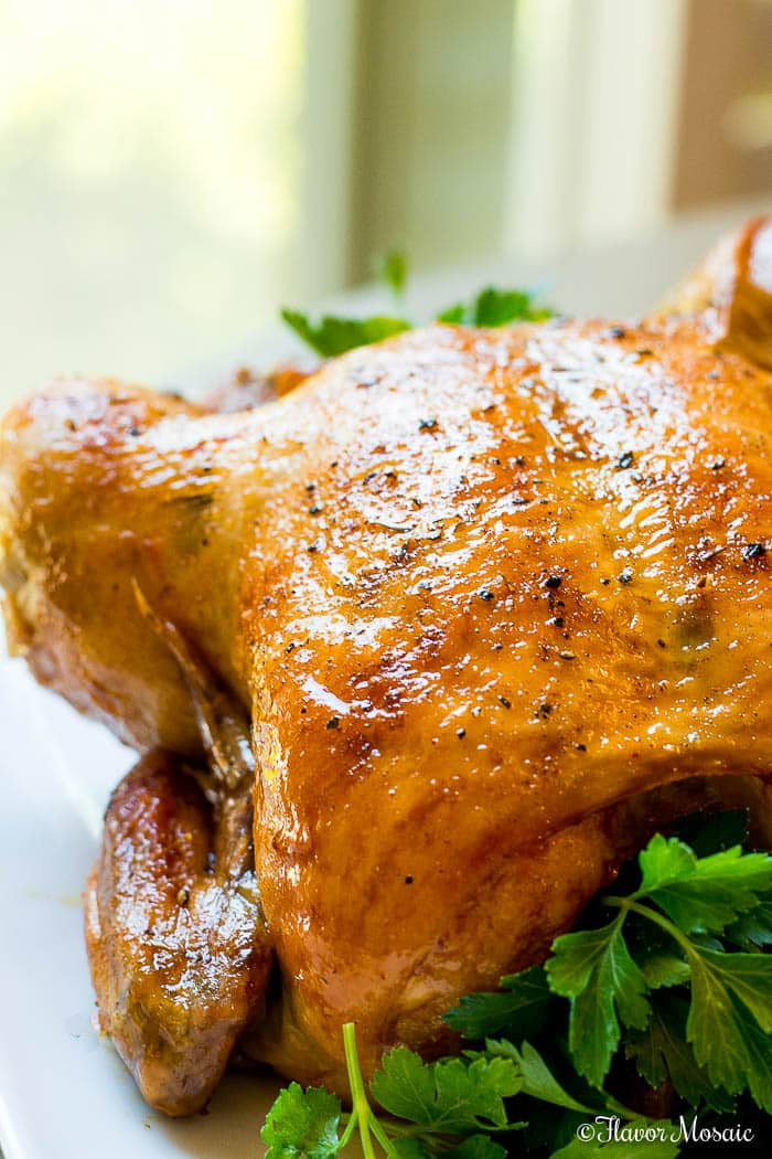 Whole Oven Roasted Chicken Rotisserie
