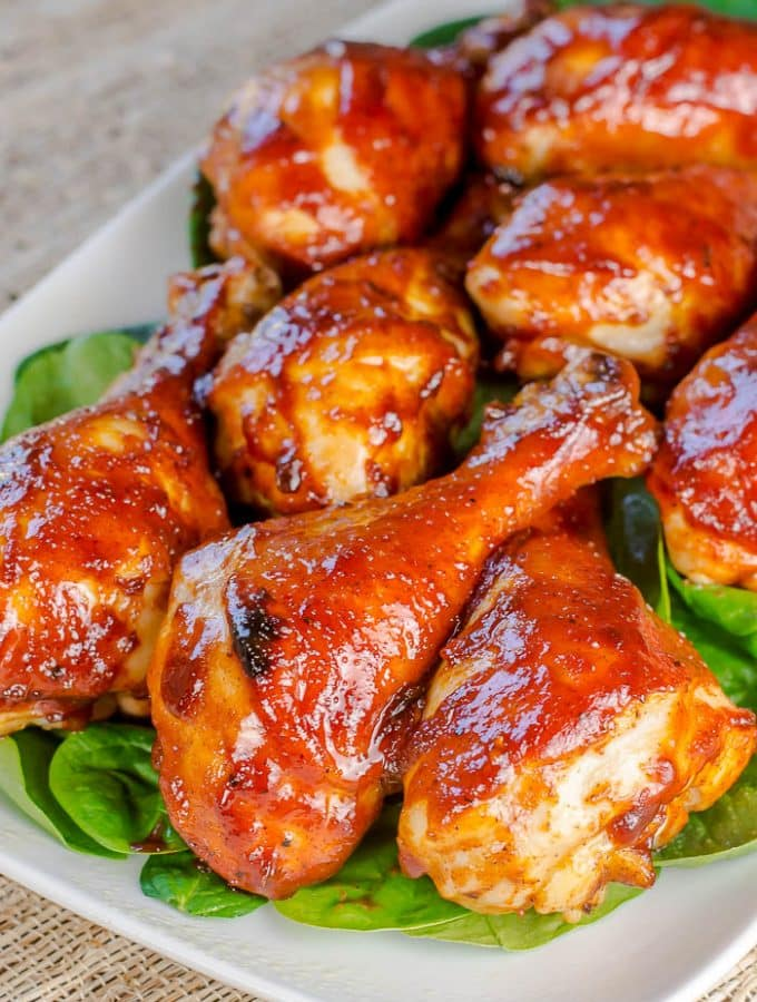 Baked BBQ Chicken