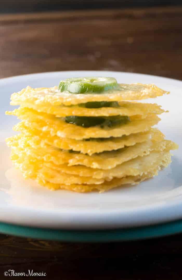 Jalapeno Parmesan Crisps