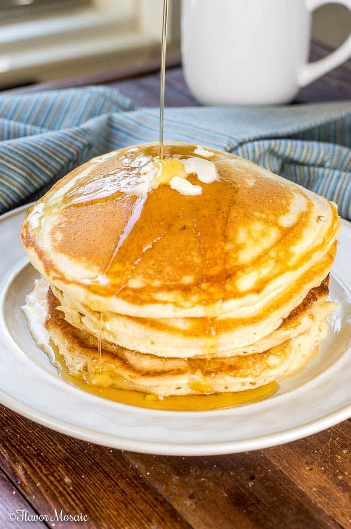 Old Fashioned Fluffy Pancakes