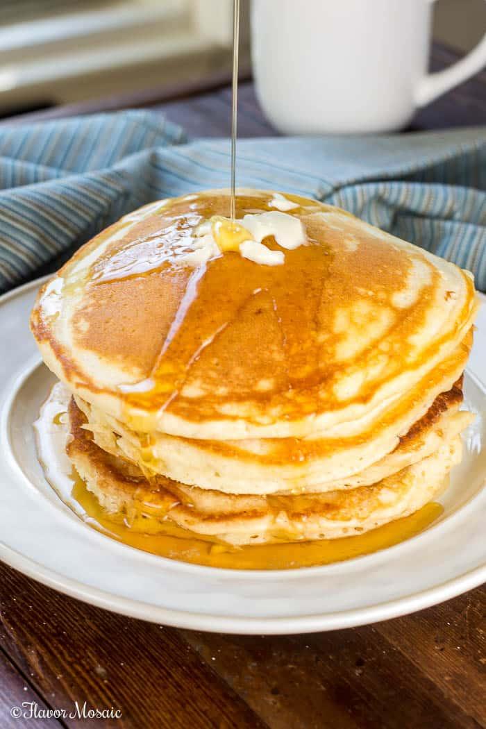 Old Fashioned Fluffy Pancake Recipe