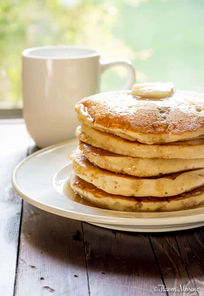 Old Fashioned Fluffy Pancakes Recipe