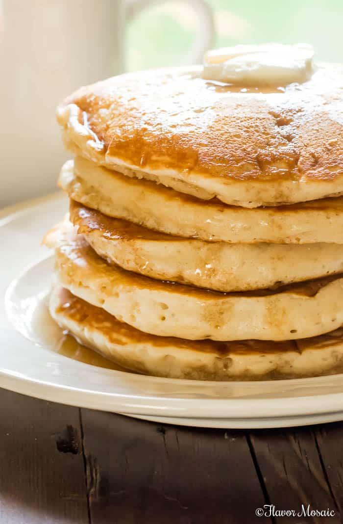 Old Fashioned Fluffy Pancake Recipe - Flavor Mosaic