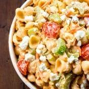 Buffalo Chicken Pasta Salad Recipe