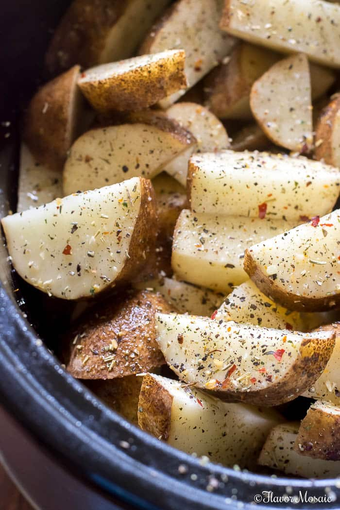 Crockpot Roasted Potatoes