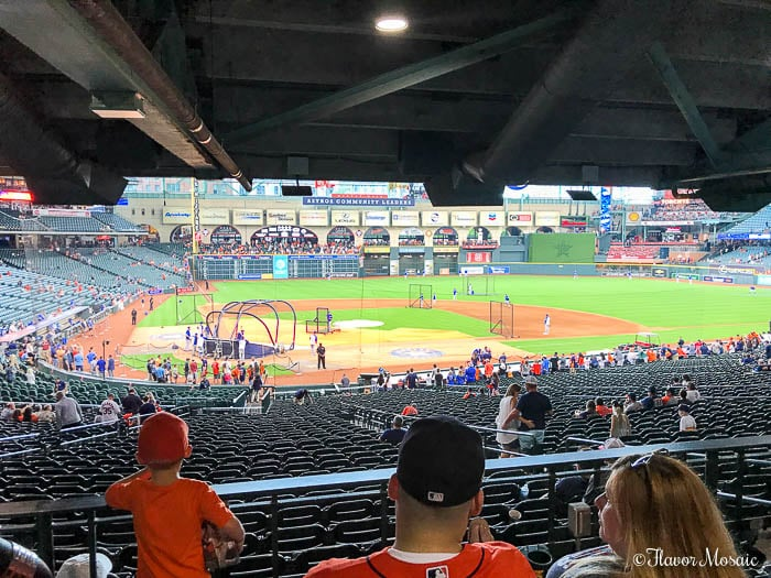 Hotel Alessandra Vacation Staycation in downtown Houston Texas. Watch Houston Astros baseball game.