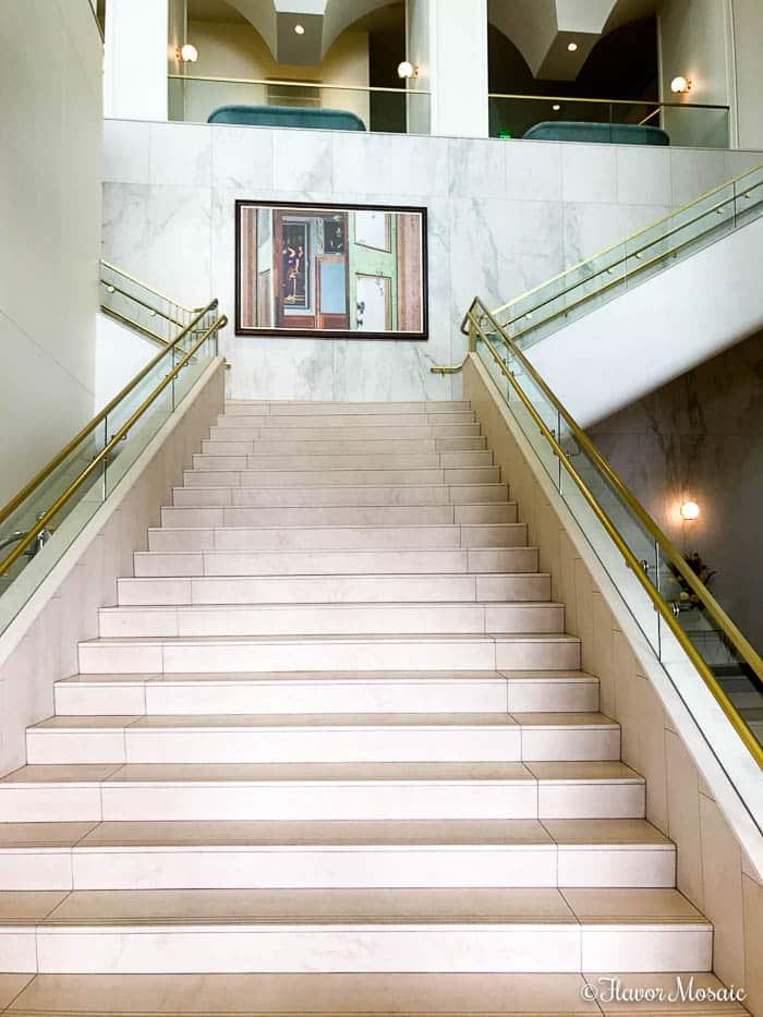 Hotel Alessandra a modern luxury hotel in downtown Houston, Texas.