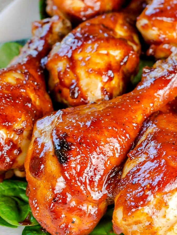 Oven Baked BBQ Chicken - Barbecue ChickeOven Baked BBQ Chicken