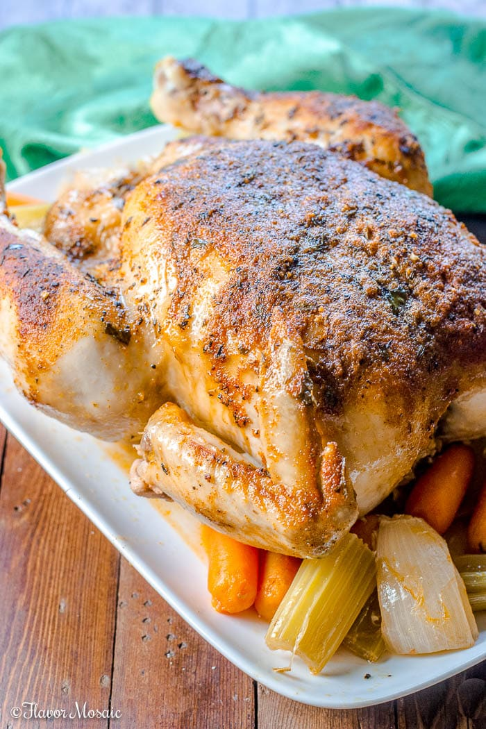 Crockpot Roast Chicken or Crock Pot Roast Chicken
