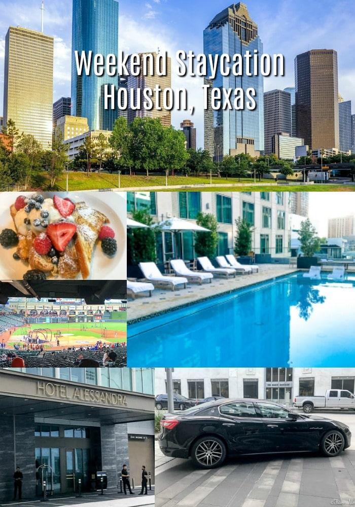 Hotel Alessandra Houston Texas Weekend Staycatio