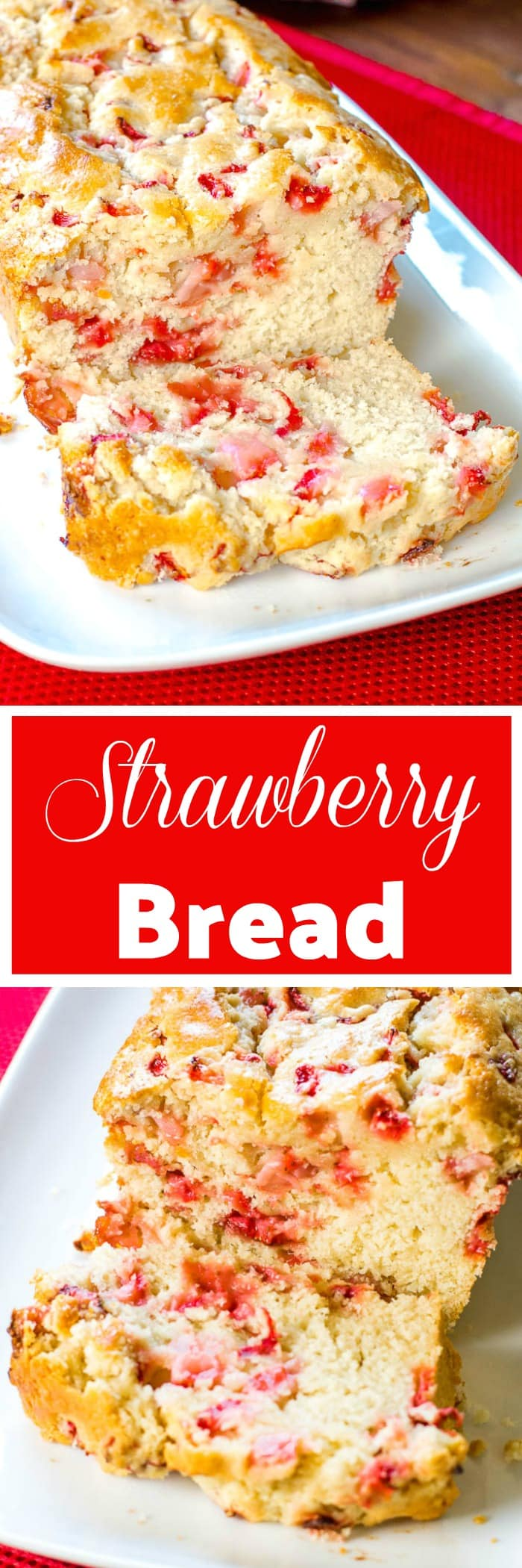 Strawberry Bread Flavor Mosaic