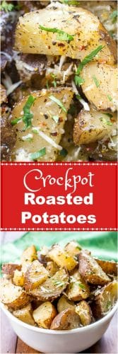Crockpot Roasted Potatoes or Slow Cooker Roasted Potatoes